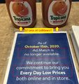 Wal-Mart - No Price Match.JPG