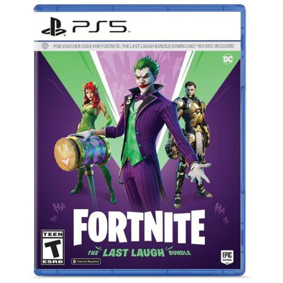 6. Best Online Game: Fortnite: The Last Laugh Bundle