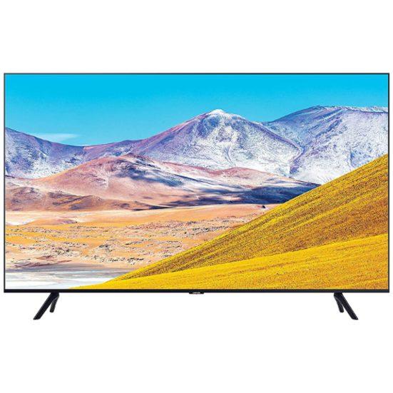 """3. Best Budget Pick (LED): Samsung 75"""" TU8000 4K Ultra HD HDR Smart TV (UN75TU8000FXZC)"""