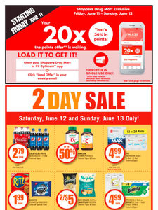 [Valid Sat Jun 12 — Fri Jun 18] Shoppers Drug Mart