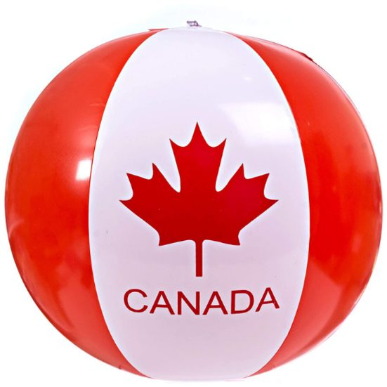 10. Best Just-for-Fun Gift: Canada Day Beach Ball