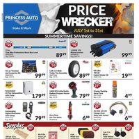 Princess Auto - Price Wrecker - Summertime Savings! Flyer
