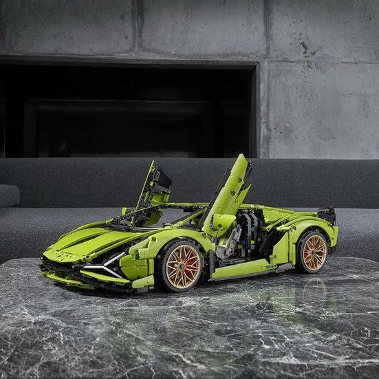 4. Best Large Set: LEGO Technic Lamborghini Sián FKP 37