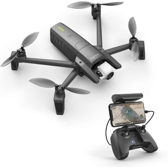 2. Runner Up: Parrot PF728000 ANAFI Foldable Quadcopter Drone