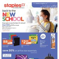 - Weekly Deals - Back To The New School Flyer