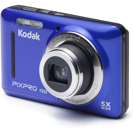 4. Best Budget Pick: Kodak FZ53-BL Point and Shoot Digital Camera