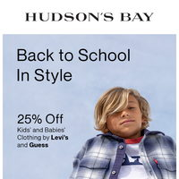 The Bay - Weekly Deals - Back To School In Style Flyer
