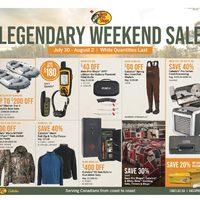 Bass Pro Shops - Legendary Weekend Sale Flyer