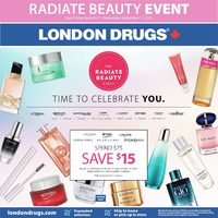 - Radiate Beauty Event Flyer