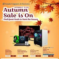 Canada Computers - Weekly Deals - Autumn Sale Flyer