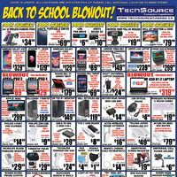 Tech Source - Back To School Blowout! Flyer