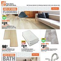 Home Depot - Weekly Deals Flyer