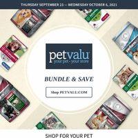 Pet Valu - 2 Weeks of Savings Flyer