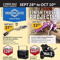 - 2 Week Sale - Finish Those Projects! Flyer