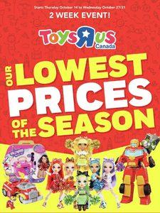 [Valid Thu Oct 14 - Wed Oct 27] Toys R Us
