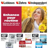 Zehrs - Beauty Book - Enhance Your Routine Flyer