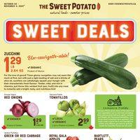 The Sweet Potato - 2 Weeks of Savings Flyer