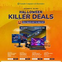 Canada Computers - Weekly Deals - Halloween Killer Deals Flyer