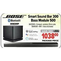 Bose Smart Sound Bar 300 Bass Module 500