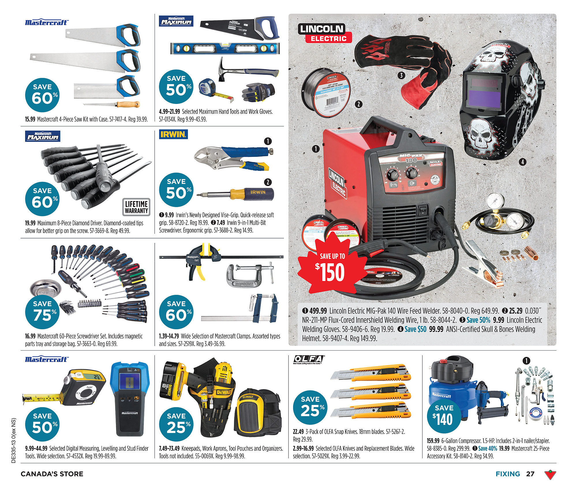 Canadian Tire Weekly Flyer Aug 22 29 99 Lincoln Wiring Diagram