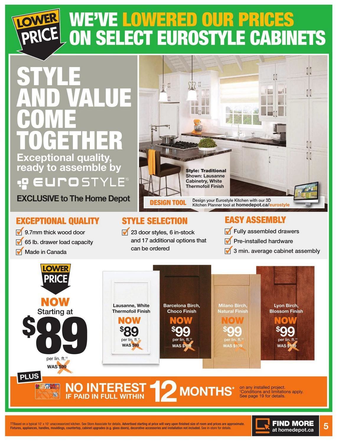 a28d705f53a4 Home Depot Weekly Flyer - Weekly Flyer - Spring Into Savings - Mar 27 – Apr  2 - RedFlagDeals.com