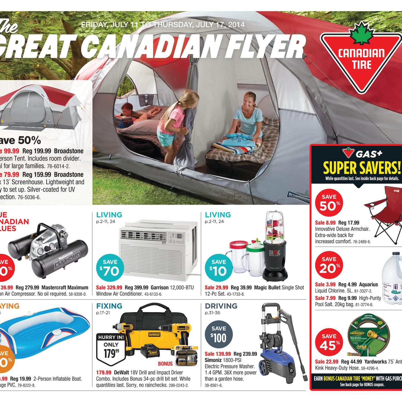 Canadian Tire Weekly Flyer Jul 11 17 Mastercraft Seat Heater Wiring Diagram