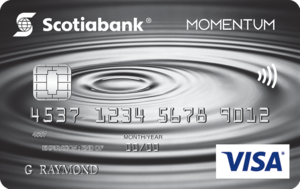 Scotia Momentum® No-Fee VISA* Card