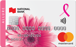 National Bank of Canada MasterCard® Allure Credit Card
