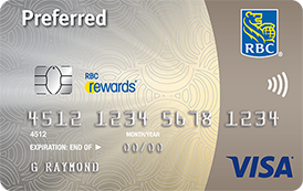 RBC Rewards® Visa‡ Preferred