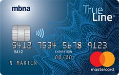 MBNA True Line® Gold Mastercard® credit card