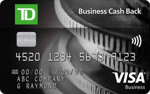 TD Business Cash Back Visa* Card