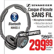 Centre Hifi Sennheiser Bluetooth Headphones Redflagdealscom