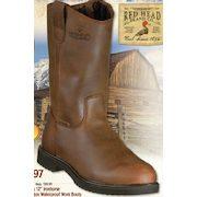 2c1ec578ac5 Bass Pro Shops: RedHead 12'' Ironhorse Side-Zip Wellington ...