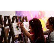$25 for a Painting Workshop and Specialty Café Drink for One ($47.75 Value)