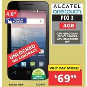 Factory Direct: Alcatel Onetouch Pixi 3 Unlocked Android