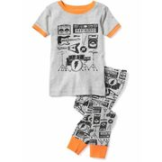 2-piece Music Graphic Sleep Set For Toddler & Baby - $16.00 ($0.94 Off)
