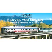 Get 50% Off On Flights, Bus & Train Tickets