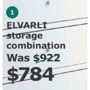 ELVARLI Storage Combination - $784.00