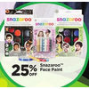 Snazaroo Face Paint - 25% off