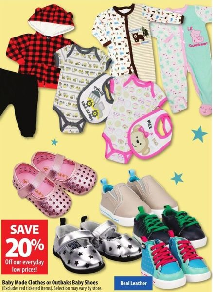 Baby Mode Clothes or Outbaks Baby Shoes