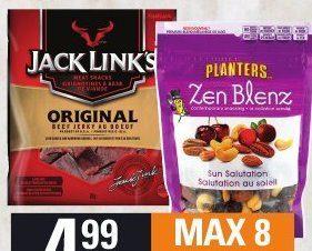 Provigo: Planters Zen Blenz Trail Mix Or Jack Link's Jerky ... on