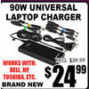 90W Universal Laptop Charger - $24.99