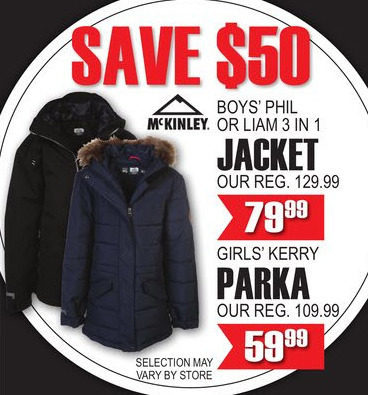 b81983506 National Sports  McKinley Boys  Phil or Liam 3-in-1 Jacket  Girls ...