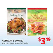 Company's Coming Focus Series Cookbooks - $3.49