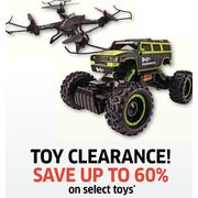 Toys  - Up to 60%  off