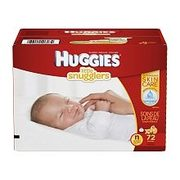 Huggies Little Snugglers New Born - $19.97