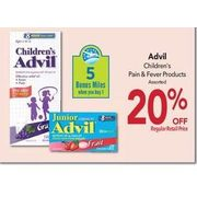 Advil Children's Pain & Fever Products - 20%   off
