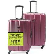 Samsonite Fiero 20' Expandable Spinner Suitcase - $139.99