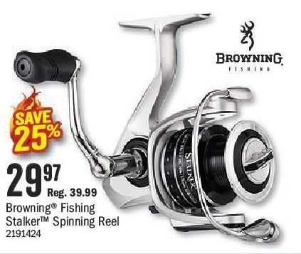 Bass Pro Shops: Browning Fishing Stalker Spinning Reel