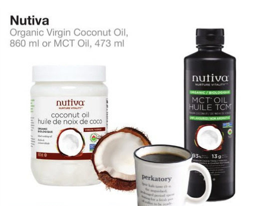 Bulk Barn: Nutiva Organic Virgin Coconut Oil or MCT Oil